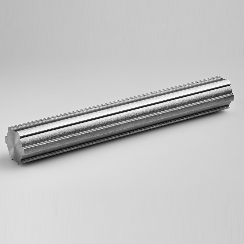 Stainless steel splined shafts ASX